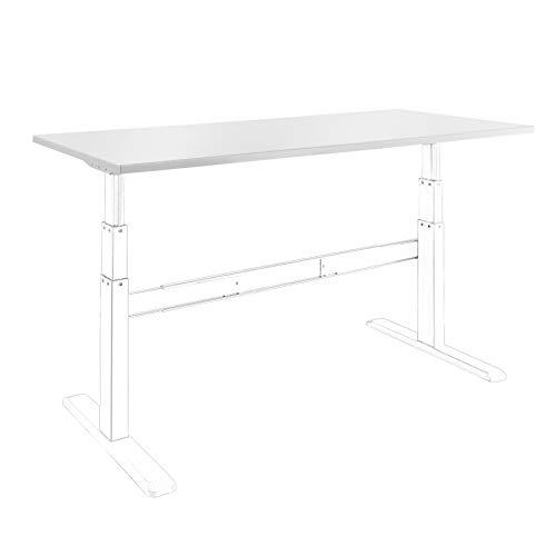 celexon Tischplatte - 150x75 cm - weiß...