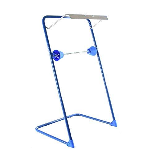 SemyTop ST-88521 - Dispensador de rollos de papel higiénico (metal), color azul