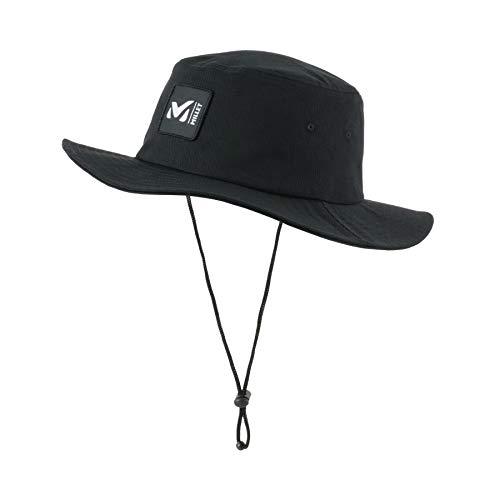 Millet – Traveller Flex II Hat M – Chapeau de Randonnée Randonnée, Trekking, Lifestyle , Homme, Noir, L
