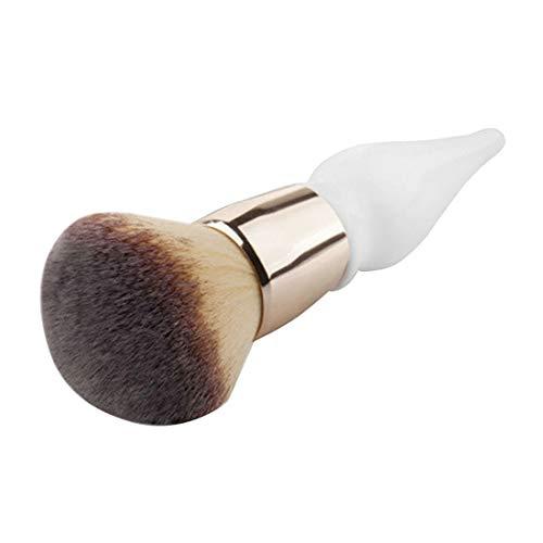 WJH Gourde Forme Poignée en Bois Grand Ronde Fondation Tampon Poudre Pinceaux de Maquillage Pinceau Rond Pinceau Maquillage BB Crème Outils