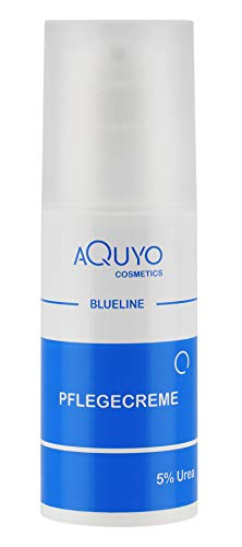 Blueline 5% Urea Creme für trockene Haut, Körpercreme bei Schuppenflechte oder Neurodermitis, Pflegecreme gegen Juckreiz, Hautcreme für Hautunreinheiten und...