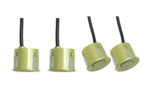 Lowest Price! Gold, Buzzer Voice, China : Car Led Parking Sensors Parktronic Display 4 Sensors Rever...