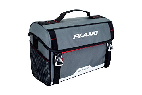 Plano Weekend Series 3700 Softsider Tackle Bag | Premium Tackle Storage Bag with Water-Resistant Front Pocket | Includes Two Plano Stowaway Tackle Boxes
