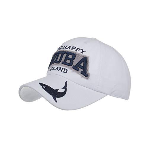 MINXINWY_ Gorras Gorras Hombres de Béisbol, Bordado Impresión de Cartas Sombreros de Gorra de Verano Hombres Mujeres Sombreros Casuales Hip Hop Ajustable Actividad Diaria sólida