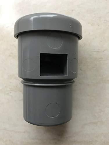 SUCCSALE- Abwasser Rohrbelüfter Rohr Belüftung -Maße: DN Ø 40 mm für alle HT- Rohre verhindern das Leersaugen von Siphons-ALCAPLAST