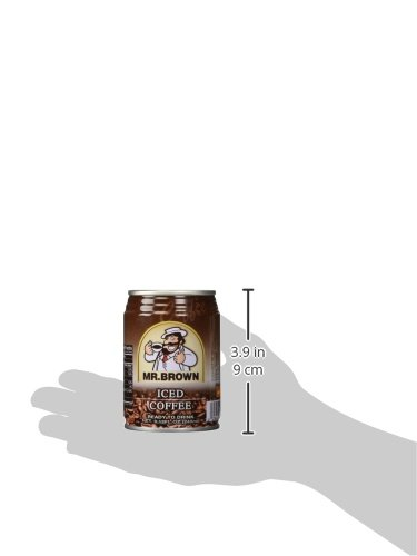 Mr. Brown Iced Coffee, 8.12-Ounce (Pack of 24)