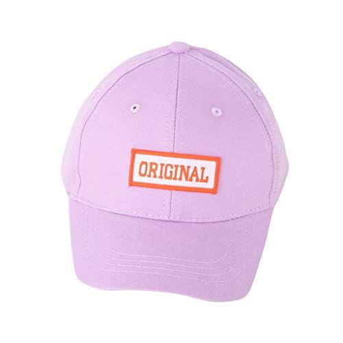 Mode Kinder Reine Farbe Big Edge Sonnenschutz Baseball Hut Kappe Einfarbige,...