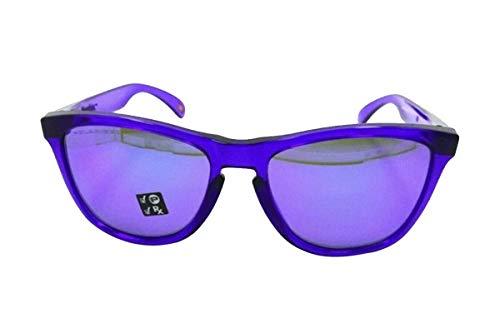 Oakley Frogskins Crystal purple w Violet Iridium Polarized