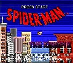 spiderman vs the kingpin genesis