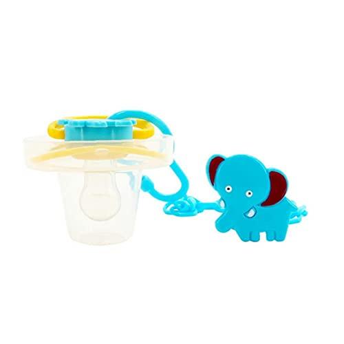 Cadena de chupete y universal del sostenedor del Chupete Juego libre de BPA de grado alimenticio Binky Soporte para bebés A los dos, Chupete de silicona Toallitas Chupete Chupete dentición Clip