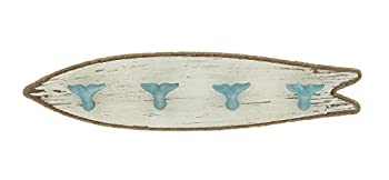 Woodland Imports Whale Tail Wood PS Wall Hook