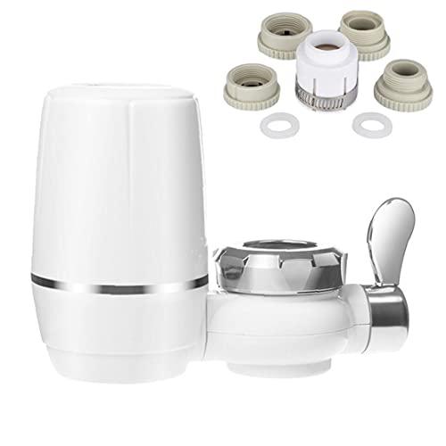 Purificador de filtro de agua del grifo Toque Sistema de filtración de carbono activado para cocina, sistema de filtración de agua de grifo