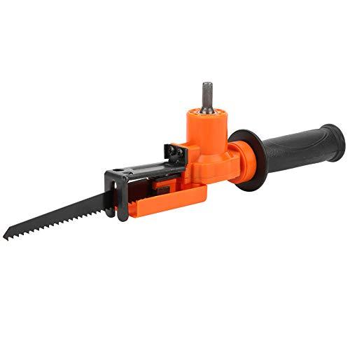 Adaptador de taladro eléctrico para carpintería Adaptador de taladro práctico y rentable Adaptador de sierra alternativa Sofisticado para taladro eléctrico