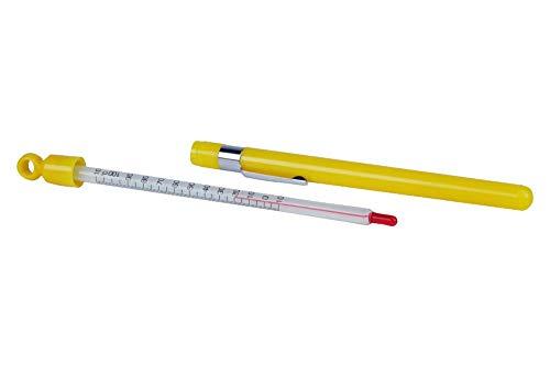 neoLab 2-9810 Taschenthermometer Spezialflüssigkeit mit Hülle, -10 Grad C bis +100 Grad C