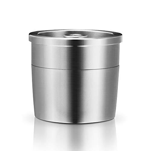 YanFeng Cápsula de café reutilizable, cápsula de filtro recargable de acero inoxidable para máquina de café, compatible con la máquina de café Illy X9 X8 X7.1 Y5 Y3 Y1.1