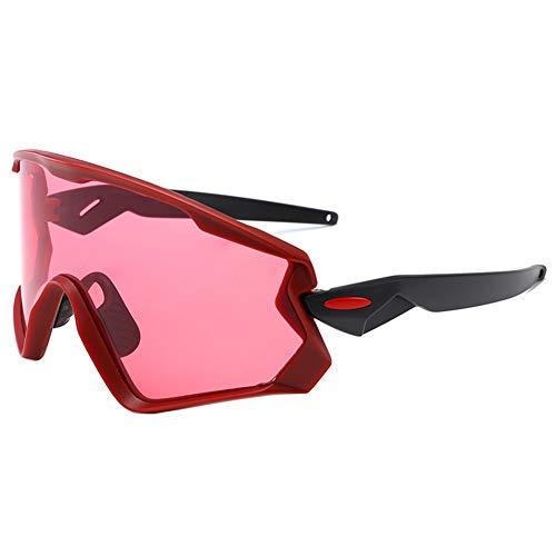 iKulilky - Gafas de Sol polarizadas para Hombre y Mujer, Gafas de Ciclismo para Exterior, Resistentes al Viento, Gafas para Ciclismo, Escalada, conducción