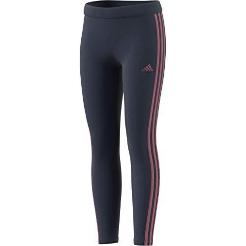 adidas GN1451 G 3S TIG Leggings Girls Crew Navy/Hazy Rose 6-7Y