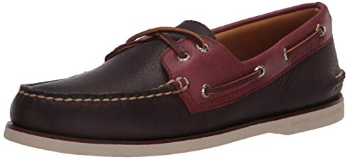 Sperry Men's Gold Cup Authentic Original 2-Eye Boat Shoe, FRENCH ROAST, 8.5