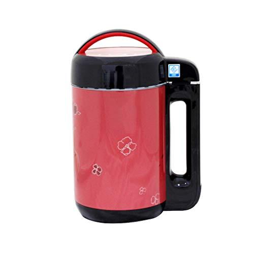 TWDYC Haushaltsklein Soyamich Maschine, multifunktionale automatische Heizung intelligente Mini-filterfreie Marmelade Milchshake-Maschine