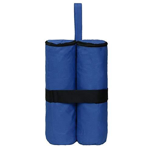 YYCHJU Bolsa Paraguas Peso Base de Arena de hasta portante de Carga Sacos de Arena al Aire Libre Sun Refugio Fixed Base del Saco de Arena for jardín Sombrilla Soportes (Color : Royal Blue)