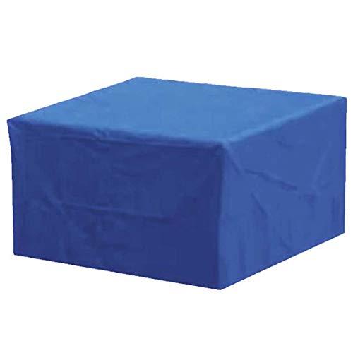 WZDD 220x220x85cm Fundas para Mesas De Exterior Cuadrada, Cubierta De Muebles De Jardin Impermeable, Funda para Mesa Exterior Rectangular, Anti-UV, a Prueba De Viento
