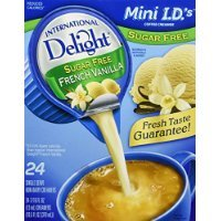 safety International Delight Sugar Free French Fashionable Dairy Non Crea Vanilla