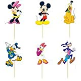 Disney Minnie Mickey Mouse Dessert Muffin Cupcake Toppers for Wedding Baby Shower Birthday...