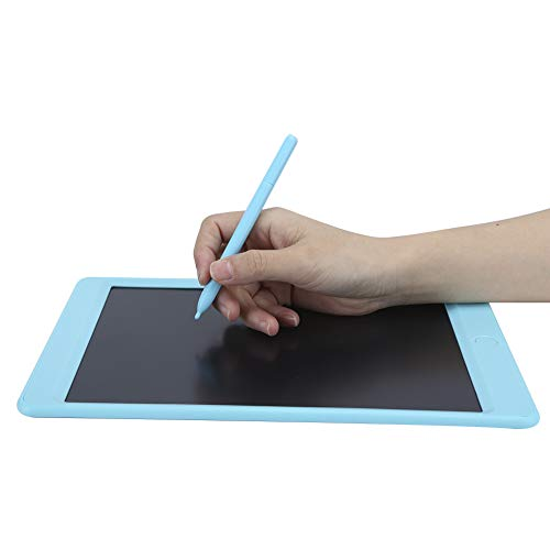 Jingyig Electronic Note Pad, Colorful Screen 3V Electronic Writing Board, for Kids Educational Toys Travelling Adult(blue)