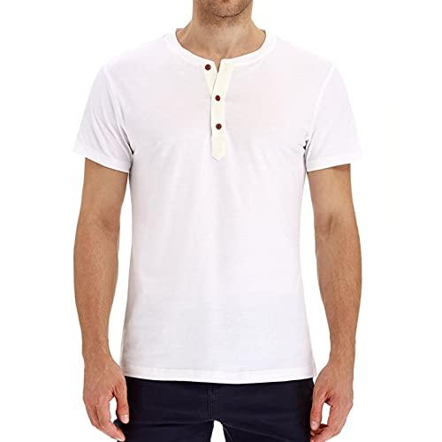 SSBZYES Camiseta para Hombre, Camiseta De Verano De Manga Corta para Hombre, Camiseta De Gran Tamaño para Hombre, Camiseta Informal Suelta, Camiseta De Color Puro