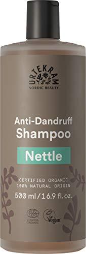 Urtekram Brennnessel Shampoo Bio, Antischuppen, 500 ml
