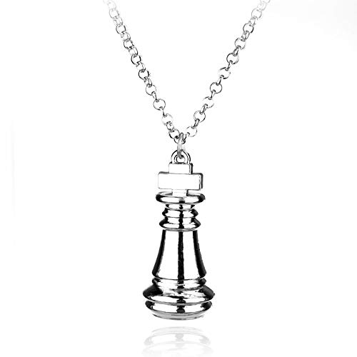 Dongsheng Jewelry No Game Lifeless Alice Wonderland Piece Necklace Pendant Women's Birthday Gift Necklace Accessories