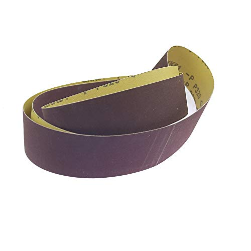 NICOLIE 1 Piece 48'/63'/72' *2' Sanding Belt A/O For Metal Polishing Belt Grinder Accessories - P80-1600x50mm