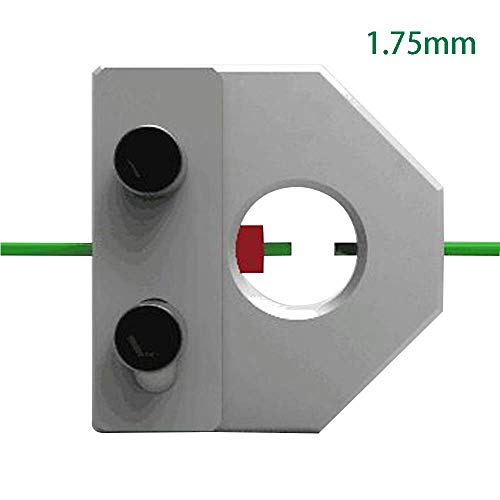 3D Printer Filament Connector 1.75mm or 3mm Replacement Universal Practical Tool Wear Resistant Sturdy Metal Professional Accessories (1.75mm)