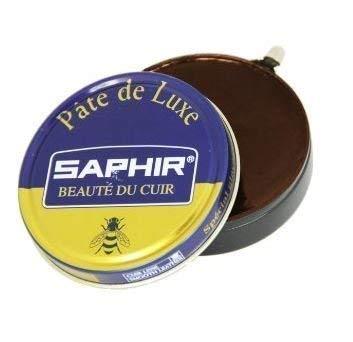 Saphir beaute du Cuero PATE Deluxe Muy Brillante betún (Marrón Medio)