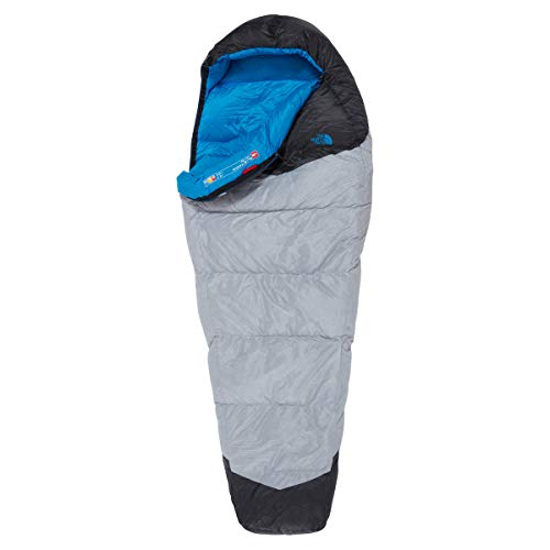 The North Face Unisex's Kazoo Slaapzak, High Rise Grijs/Hyper Blauw, Regelmatig, Rechterhand