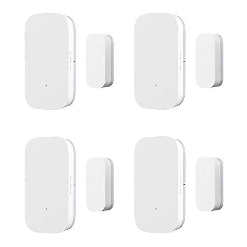 OWSOO Aqara Capteur de Porte de fenêtre,Détecteur Connexion sans Fil ZigBee/Contrôle APP/Equipement de sécurité Domestique Intelligent Polyvalent