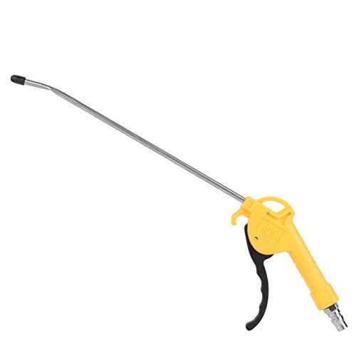 Pistola de soplado de aire, pistola de eliminación de polvo neumática de aleación de aluminio con una articulación, herramienta de accesorios de compresor de aire neumático para limpieza