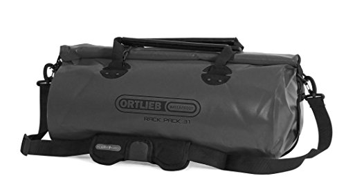 Ortlieb Fahrradtasche Rack-Pack P620, Asphalt, 54 x 27 x 30 cm, 31 Liter