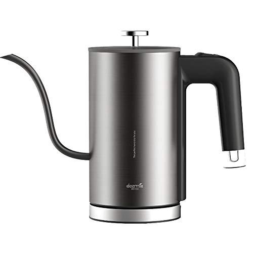 ZPL Schwanenhalskessel Qualität Temperatur Steuerung Kapazität 0,6 Liter Edelstahl Stahl Material Geeignet zum Herstellung Tee und Kaffee