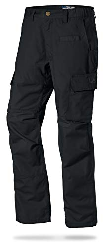 LA Police Gear Mens Urban Ops Tactical Cargo Pants - Elastic WB - YKK Zipper