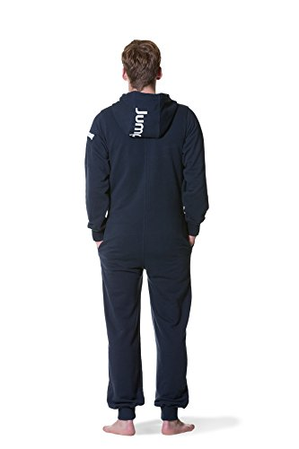 Jumpster Herren Jumpsuit Regular Fit Overall Deepest Blue Blau M - 2