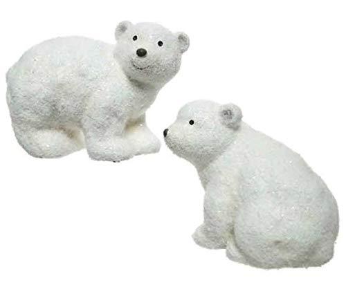 Kaemingk Orso Polare in Terracotta 2Ass Natale Decorazioni E Oggettistica, Multicolore, 8719152684052