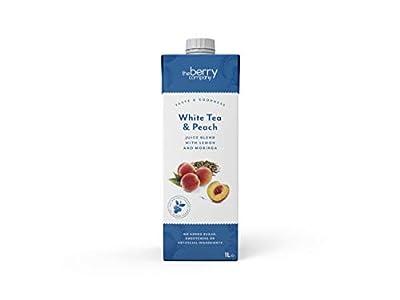 The Berry Company Special Tea Thé Blanc/Pêche 1 L - Lot de 12