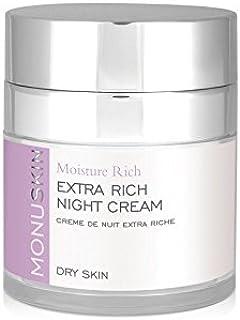 余分豊富なナイトクリーム(50ミリリットル) x2 - Monu Extra Rich Night Cream (50ml) (Pack of 2) [並行輸入品]