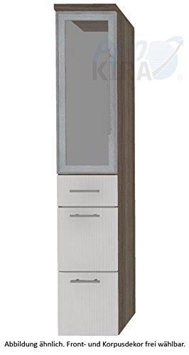 PURIS Kera Trends Armadio Alto (hna093b7ml/R) Mobile da Bagno, 30cm