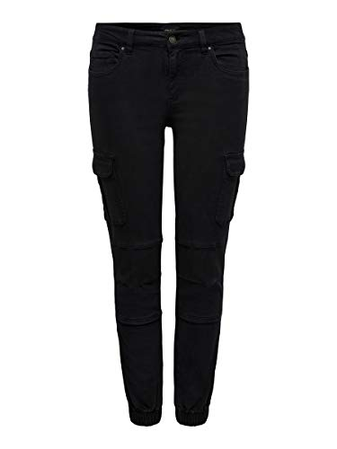 ONLY Female Cargohose Knöchellange Cargohose 3632Black