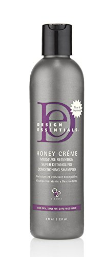 Design Essentials Honey Creme Moisture Retention Super Detangling Conditioning Shampoo - 8 Fl...