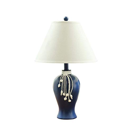 STERB Resina Moderna lámpara de Mesa, la Cortina Blanca del Tambor de cabecera del Dormitorio de la Sala de Estar Familiar