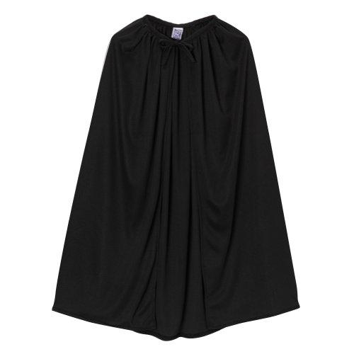Making Believe Adult Knit 48' Superhero Cape - Black
