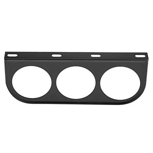 Messgerät Halter, 52mm 2 Zoll Universal Messgerät Säulenhalterung Auto Gauge Halterung Bracket Instrumentenhalter für Pod-Halter (Black)